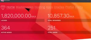 ขั้นตอนการติดตั้ง Akroma Masternode (AKA) บน Ubuntu และ Debian