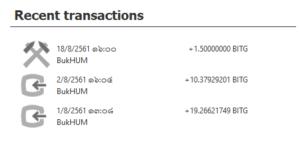 การทำเหมืองขุดเหรียญ Bitcoin Green