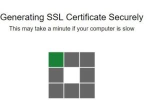 ขั้นขอ SSL ฟรี Let's Encrypt