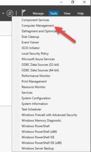 การเพิ่มขนาด Harddisk ใน Windows 2016