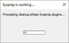 การทำ Sysprep บนวินโดส์ 10
