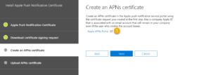 Apple APNs Portal