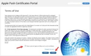 สร้าง APNs Certificate เพื่อรองรับการใช้งาน IOS