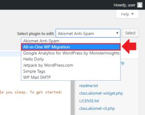 WordPress : เพิ่มขนาดไฟล์ลิมิต WP Migration Plugin